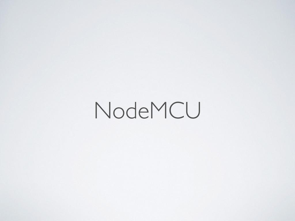 NodeMCU