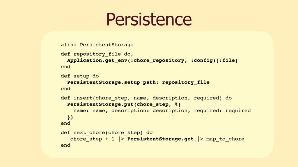 Persistence alias PersistentStorage def reposit...