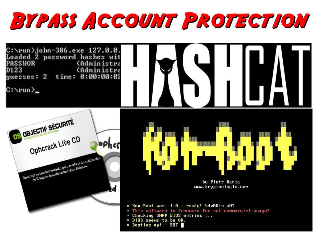 Bypass Account Protection Bypass Account Protec...