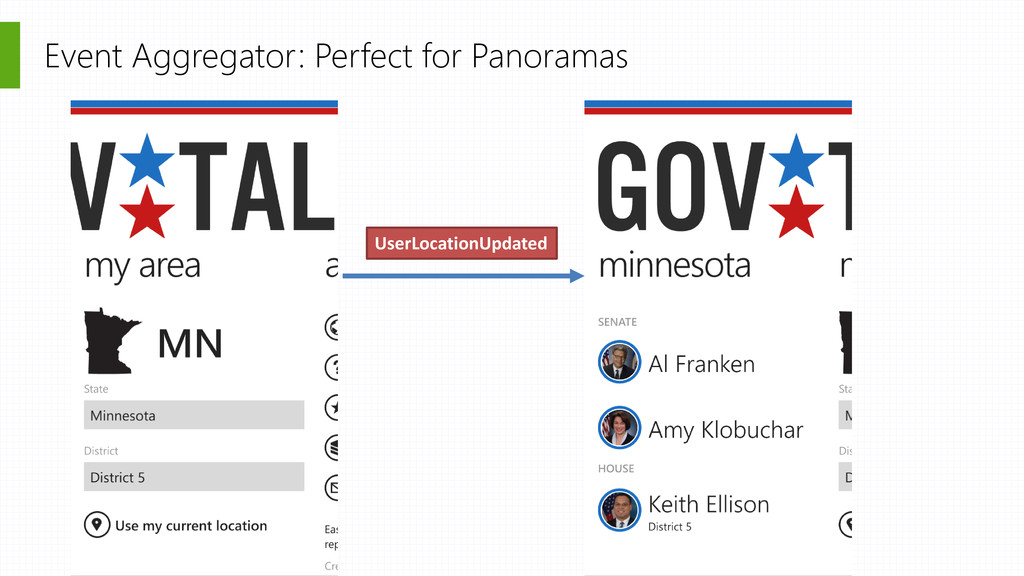 Event Aggregator: Perfect for Panoramas UserLoc...