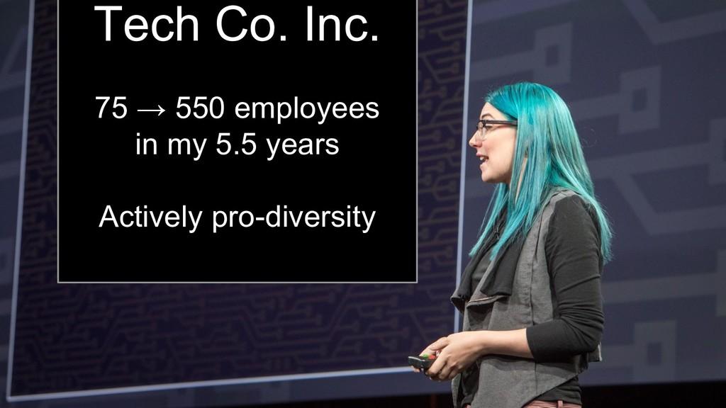 Kara Sowles Tech Co. Inc. 75 → 550 employees in...
