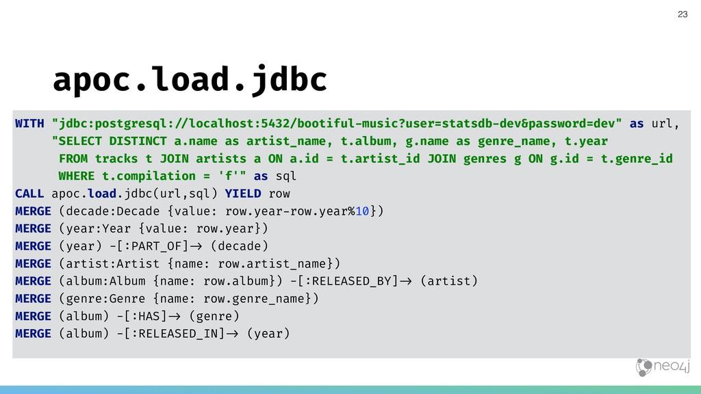 "apoc.load.jdbc WITH ""jdbc:postgresql:!""localhos..."