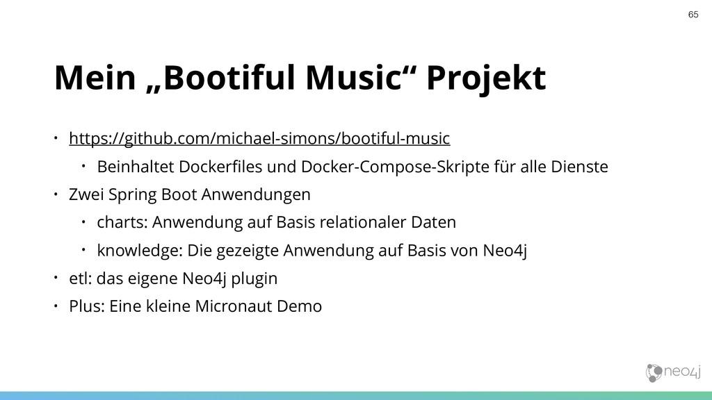 "Mein ""Bootiful Music"" Projekt • https://github...."