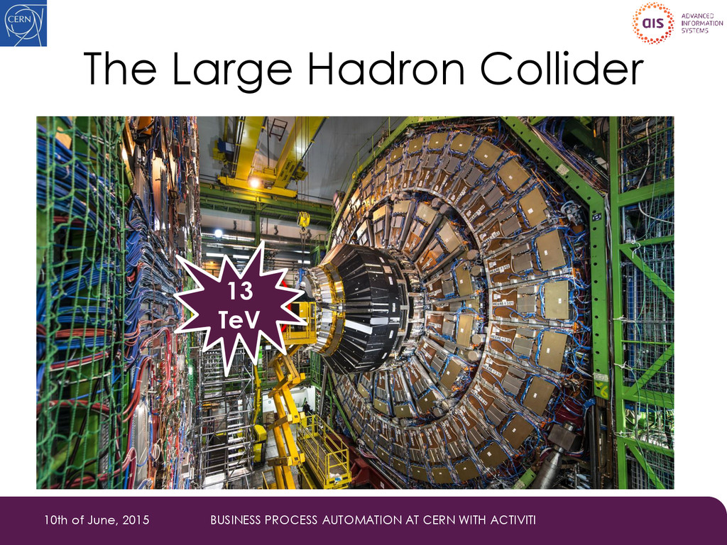 The Large Hadron Collider 10th of June, 2015 BU...
