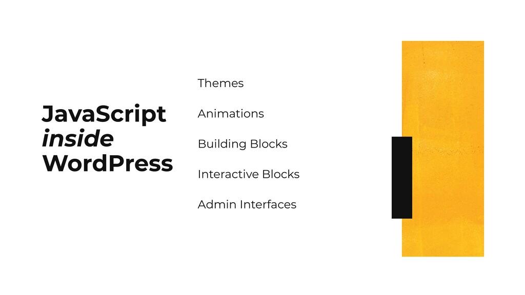 JavaScript inside WordPress Themes Animations B...