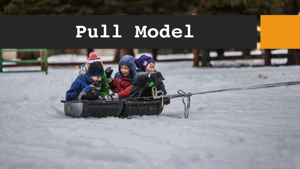 Pull Model