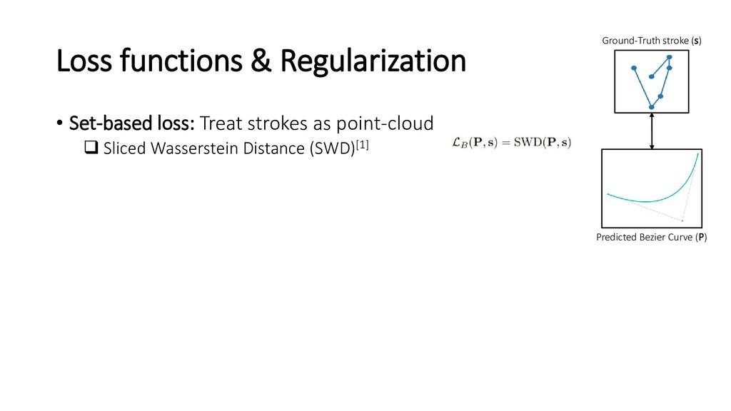 Loss functions & Regularization • Set-based los...