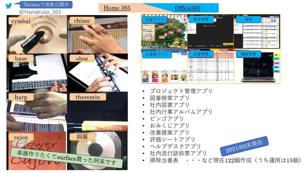 • プロジェクト管理アプリ • 図番検索アプリ • 社内図書アプリ • 社内行事アルバムアプリ...