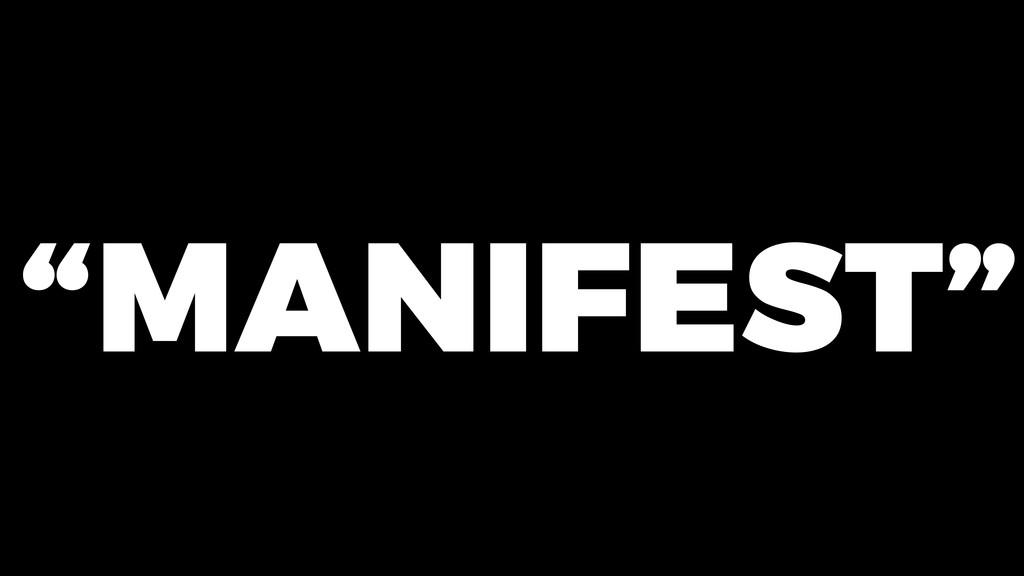 """MANIFEST"""