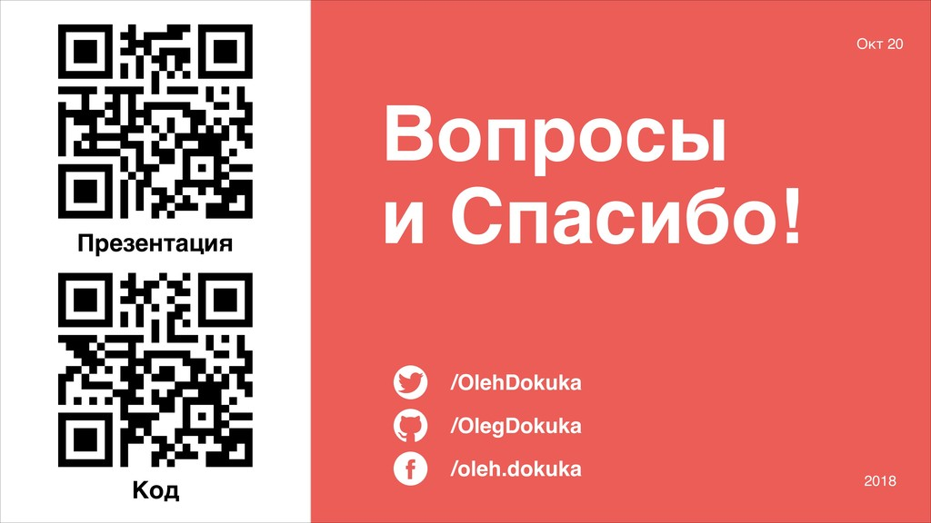 /oleh.dokuka /OlegDokuka /OlehDokuka Вопросы и ...