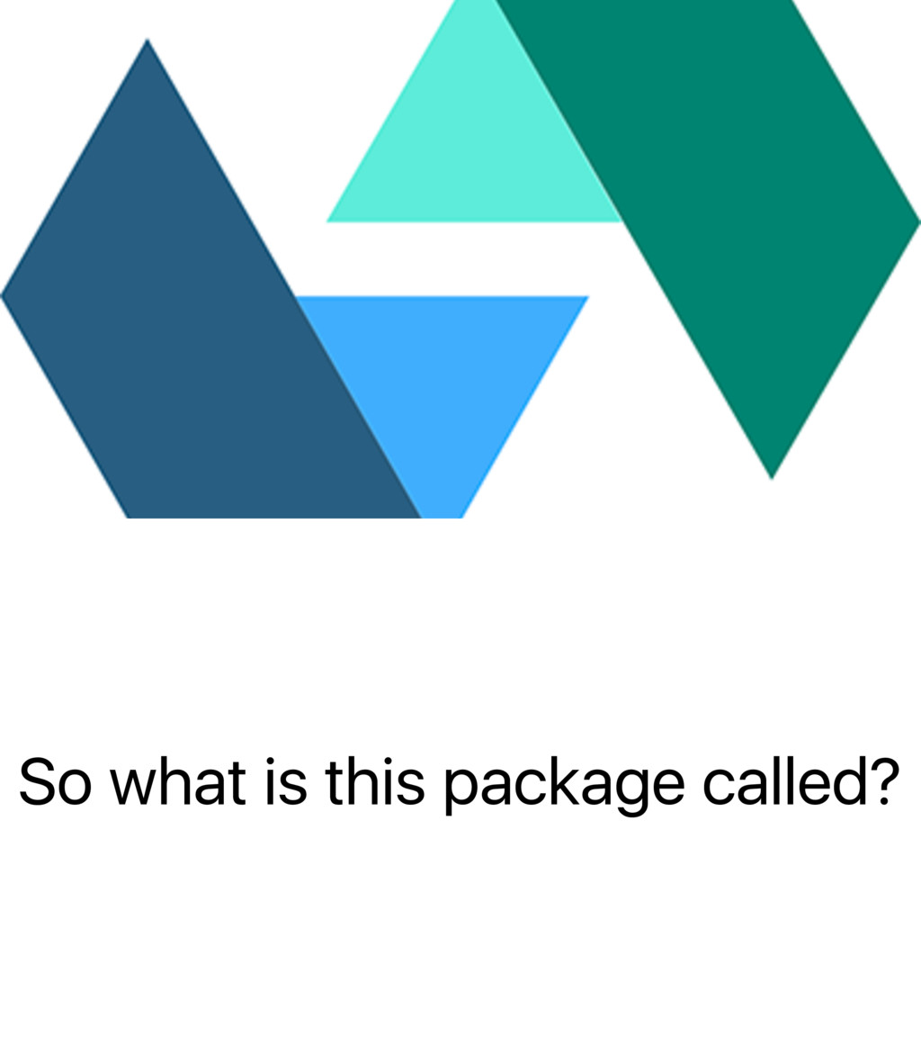 So what is this package called?