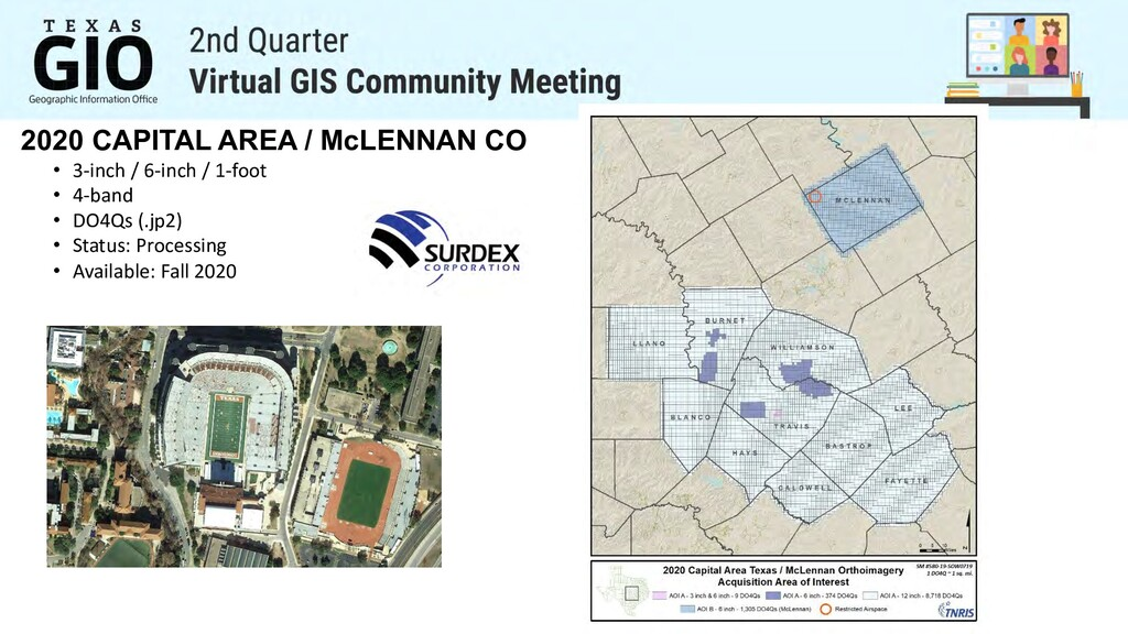 2020 CAPITAL AREA / McLENNAN CO • 3-inch / 6-in...