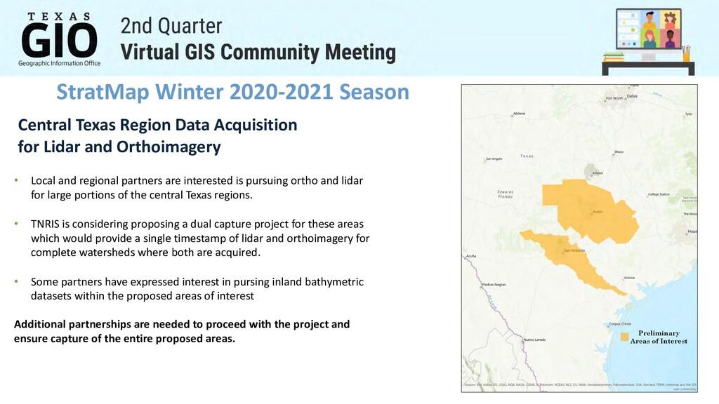 StratMap Winter 2020-2021 Season Central Texas ...