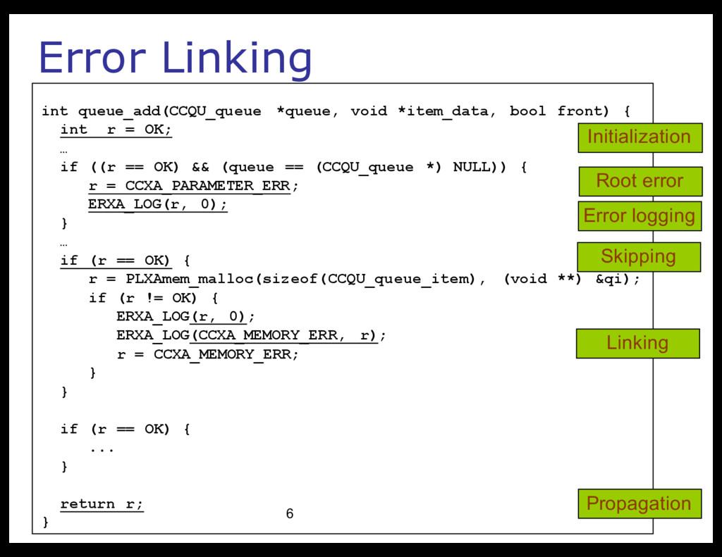 Error Linking int queue_add(CCQU_queue *queue, ...