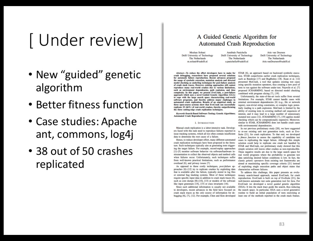 """[ Under review] • New """"guided"""" genetic algorith..."""