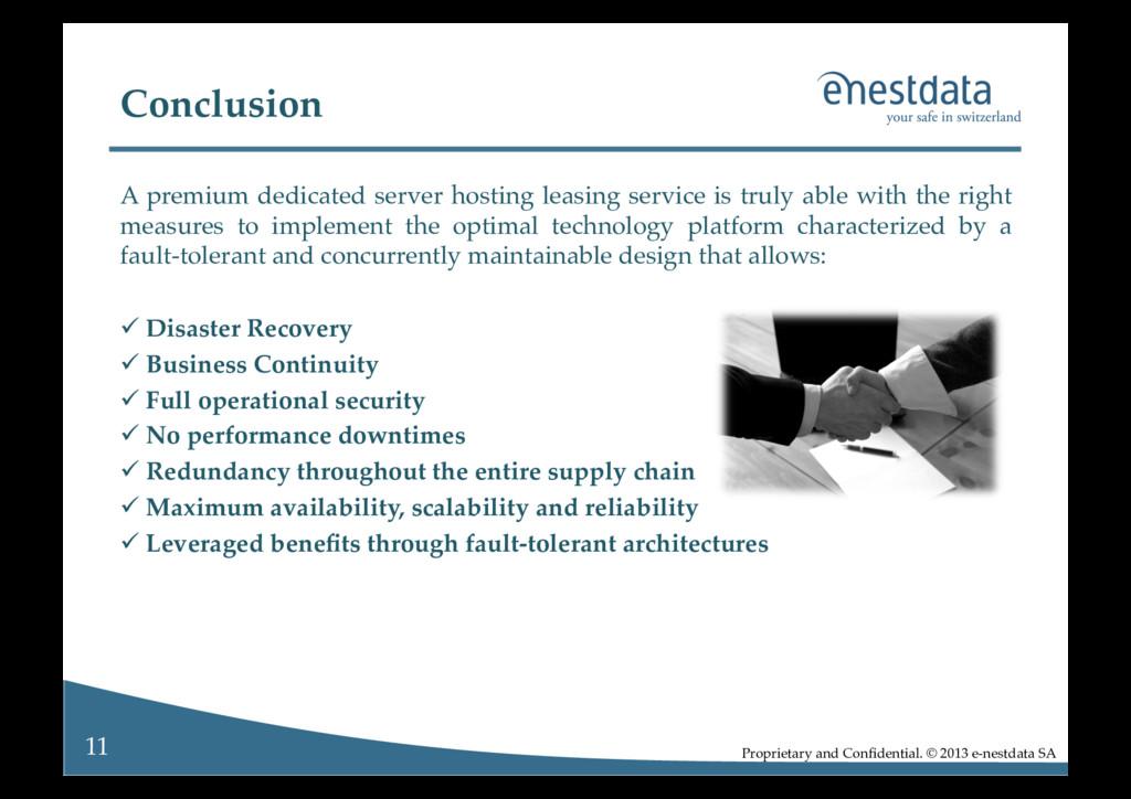 11! Proprietary and Confidential. © 2013 e-nestd...