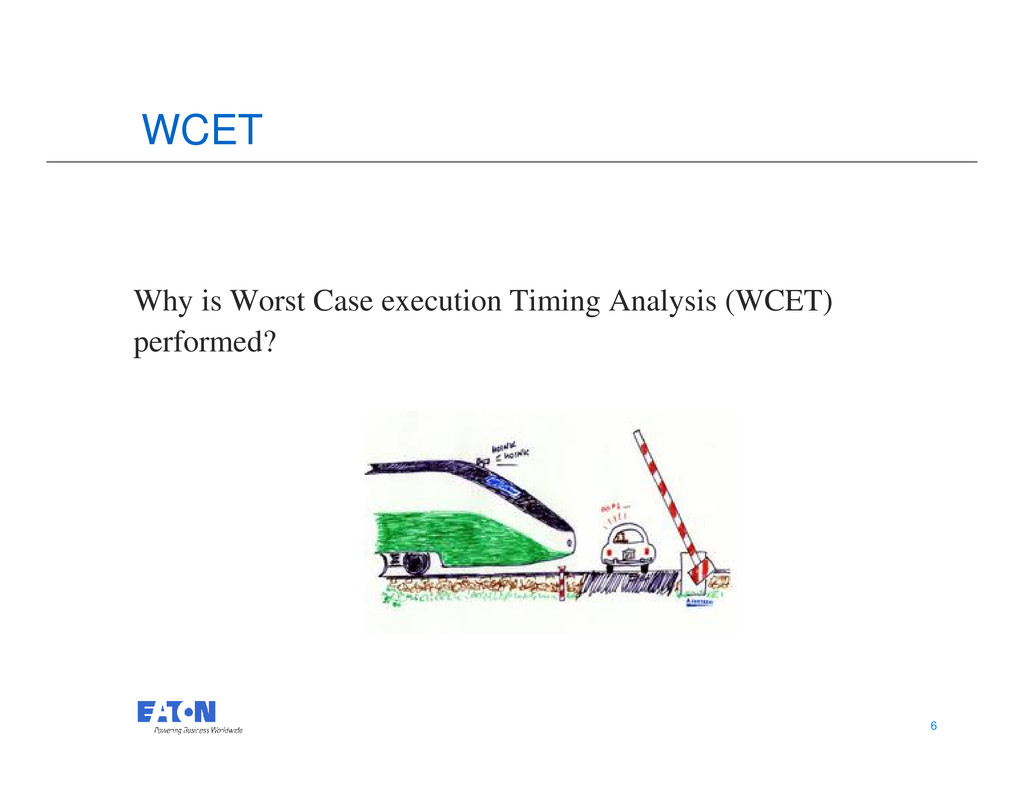 WCET Why is Worst Case execution Timing Analysi...