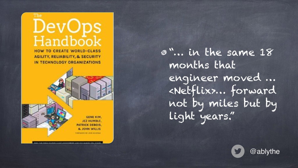 """@ablythe """"… in the same 18 months that engineer..."""