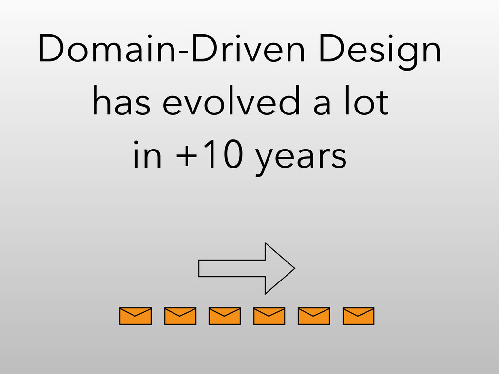 Domain-Driven Design has evolved a lot in +10 y...