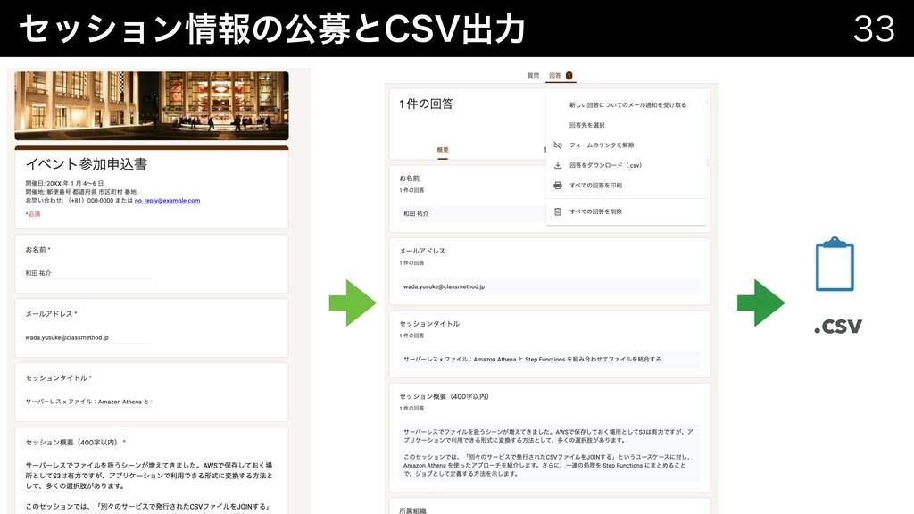 ηογϣϯใͷެืͱ$47ग़ྗ  .csv