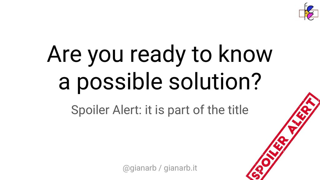 @gianarb / gianarb.it Are you ready to know a p...