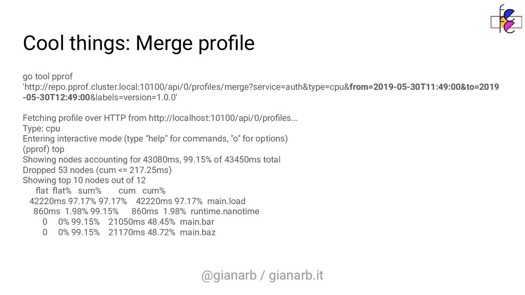 @gianarb / gianarb.it Cool things: Merge profile...
