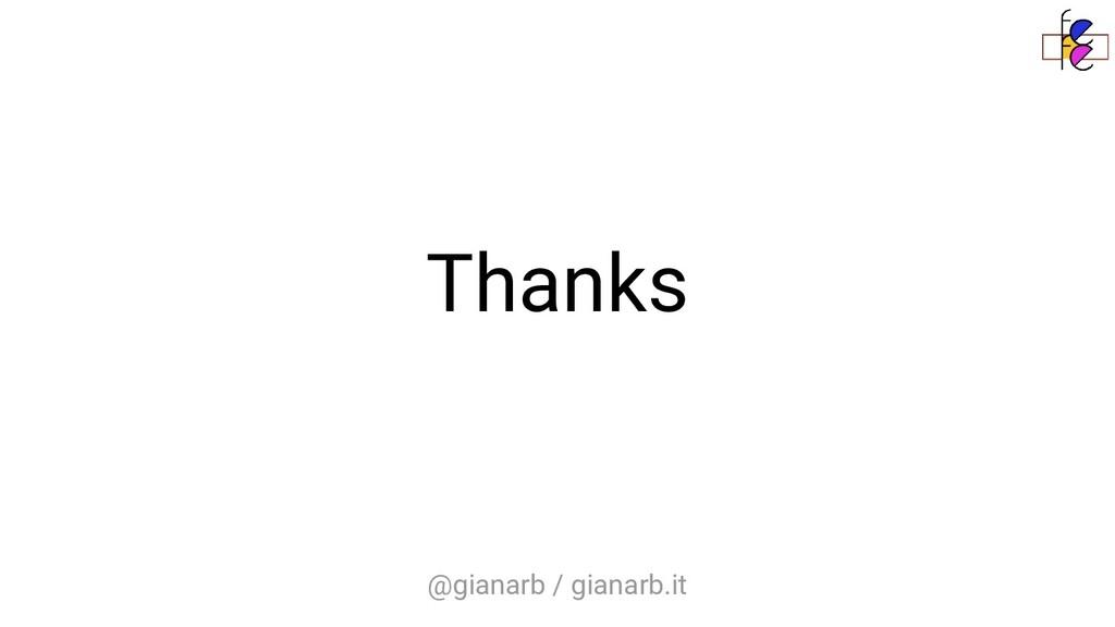 @gianarb / gianarb.it Thanks