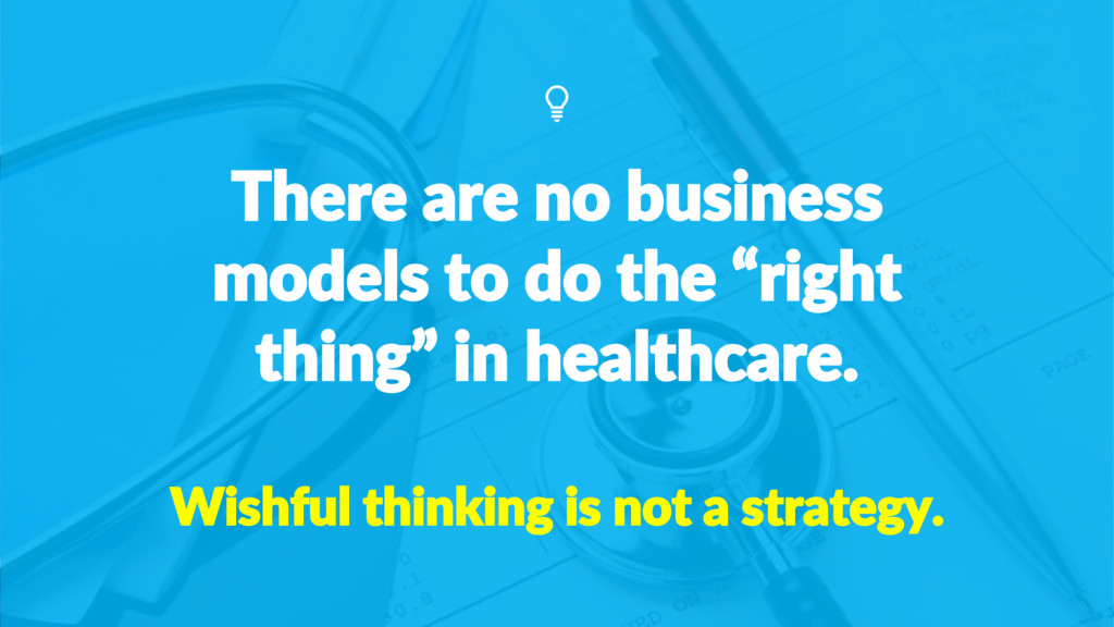 "There are no business models to do the ""right t..."
