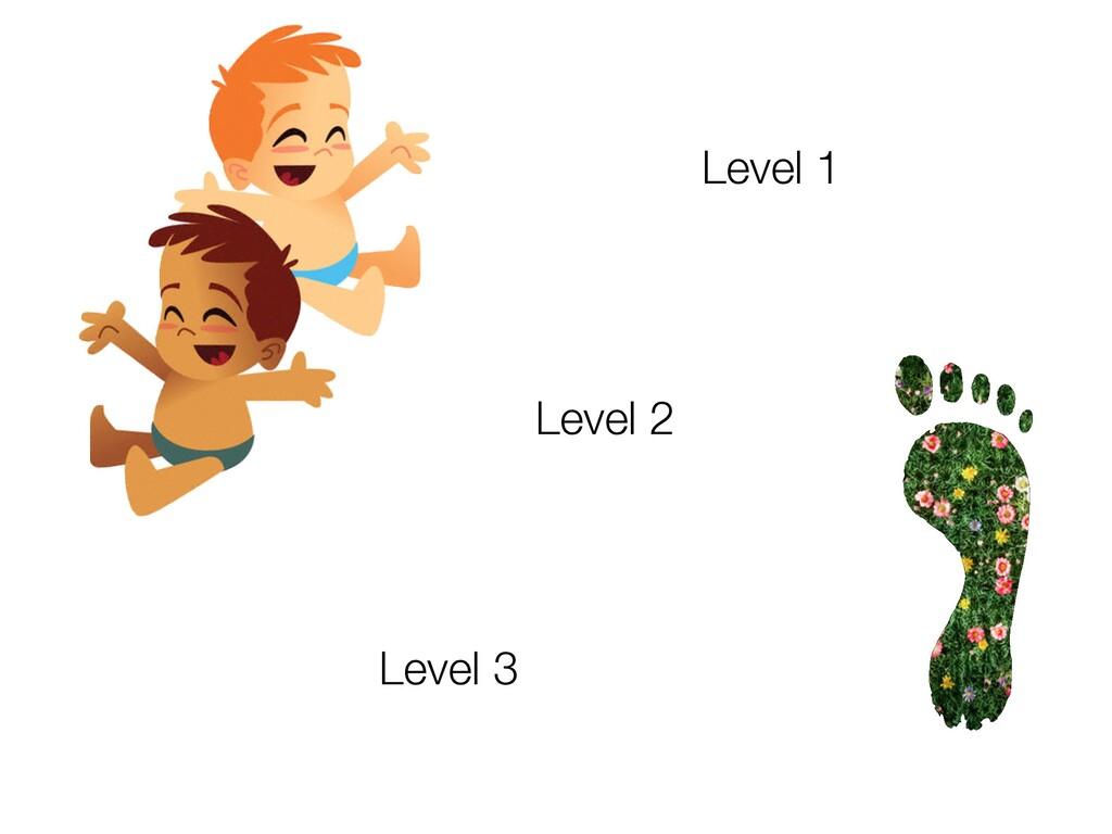 Level 1 Level 3 Level 2