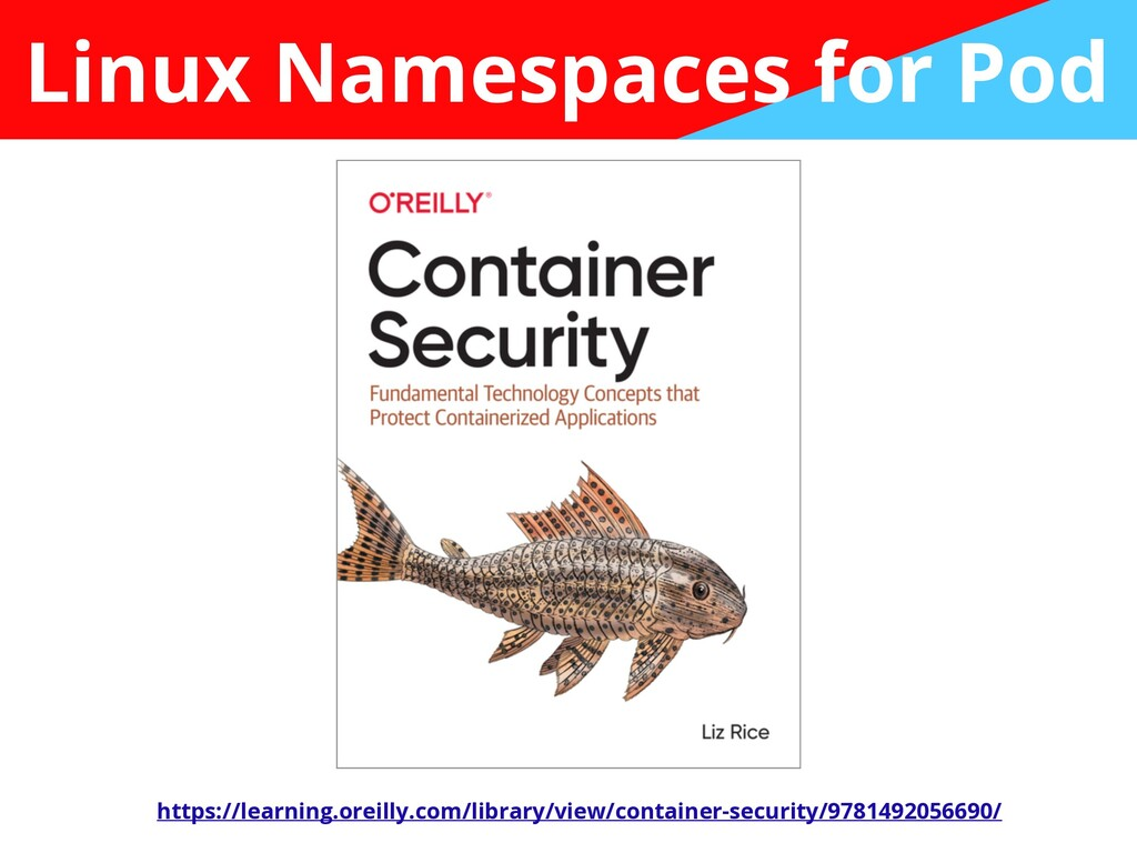 Linux Namespaces for Pod https://learning.oreil...