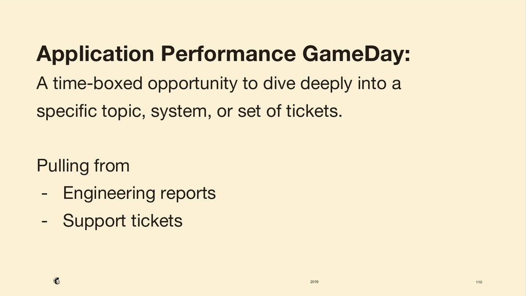 2019 110 Application Performance GameDay: A ti...
