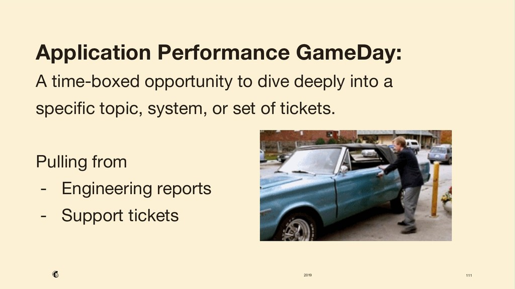 2019 111 Application Performance GameDay: A ti...
