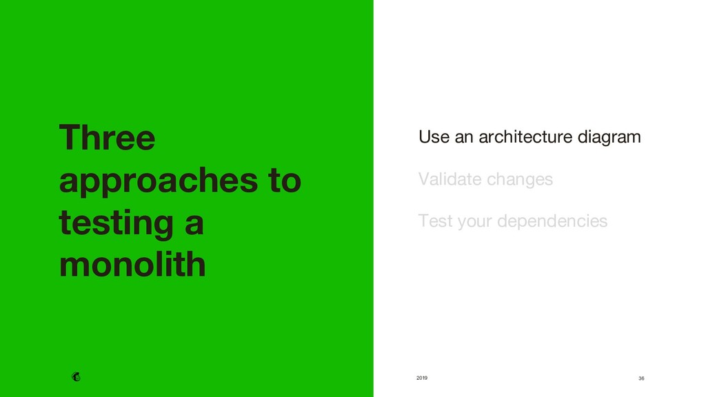 2019 Use an architecture diagram  Validate ch...