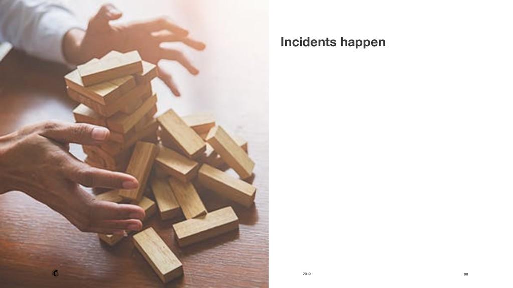 2019 98 Incidents happen