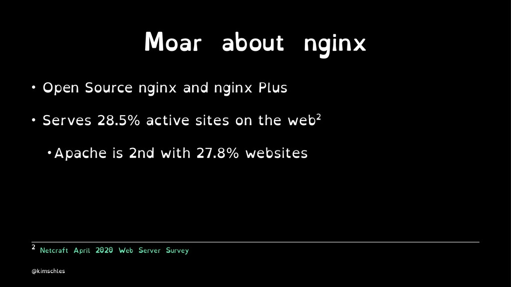 Moar about nginx • Open Source nginx and nginx ...