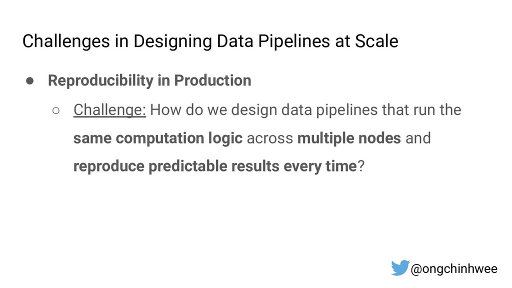 Challenges in Designing Data Pipelines at Scale...