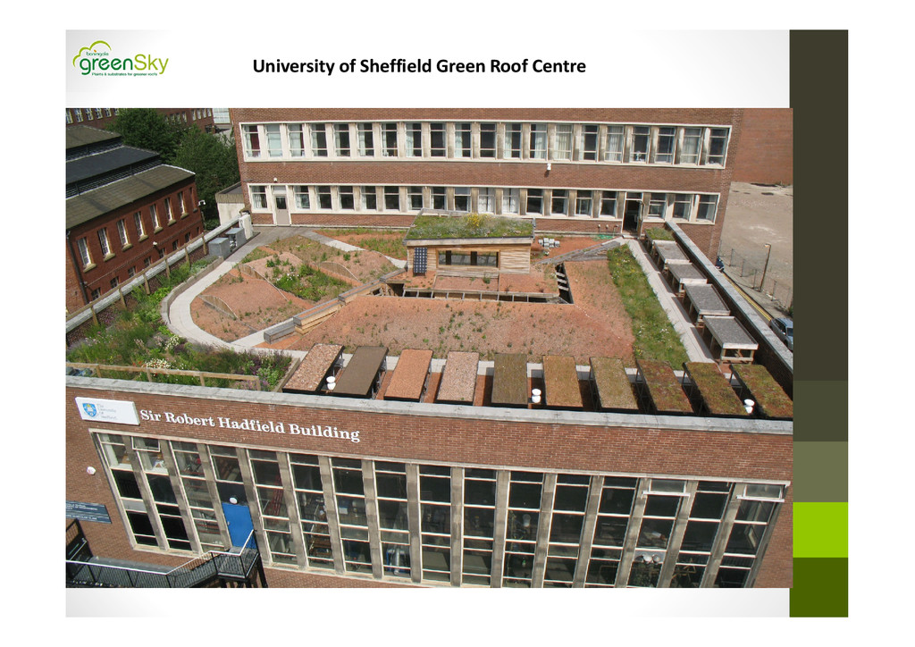 University of Sheffield Green Roof Centre