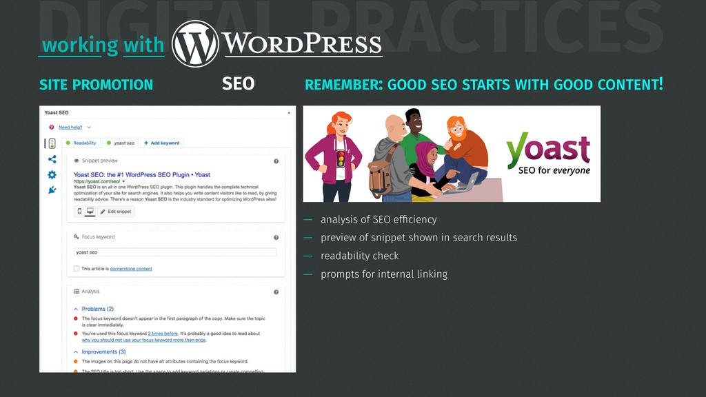 — analysis of SEO efficiency — preview of snippe...