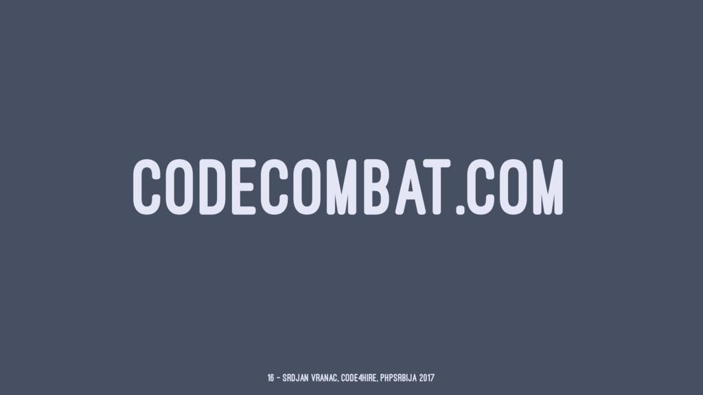 CODECOMBAT.COM 16 — Srdjan Vranac, Code4Hire, P...