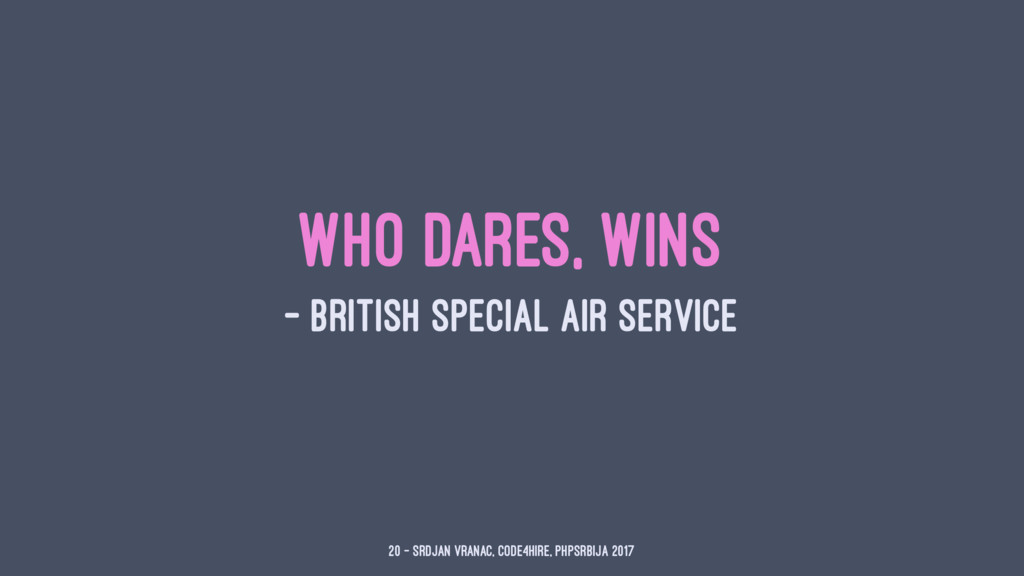 Who Dares, Wins — British Special Air Service 2...