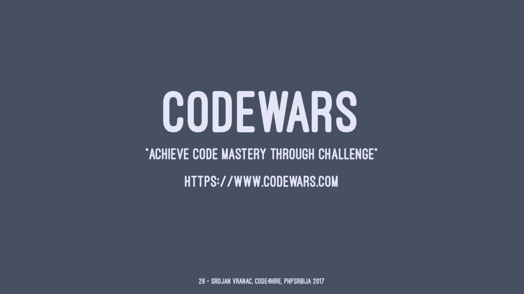 """CODEWARS """"ACHIEVE CODE MASTERY THROUGH CHALLENG..."""