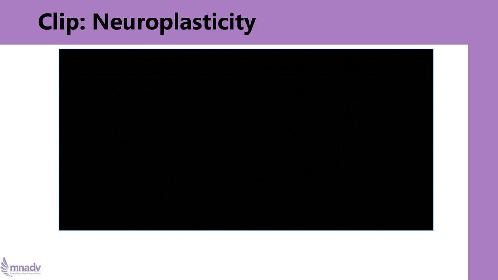 Clip: Neuroplasticity