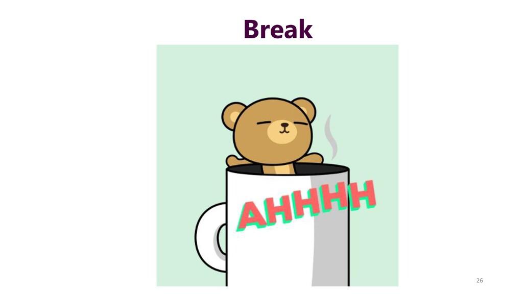 Break 26