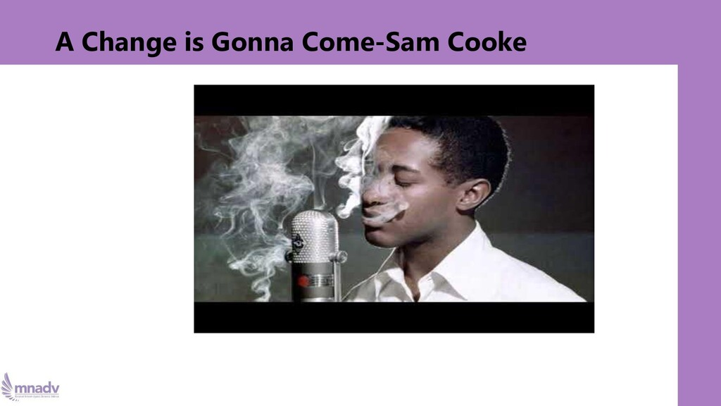 A Change is Gonna Come-Sam Cooke