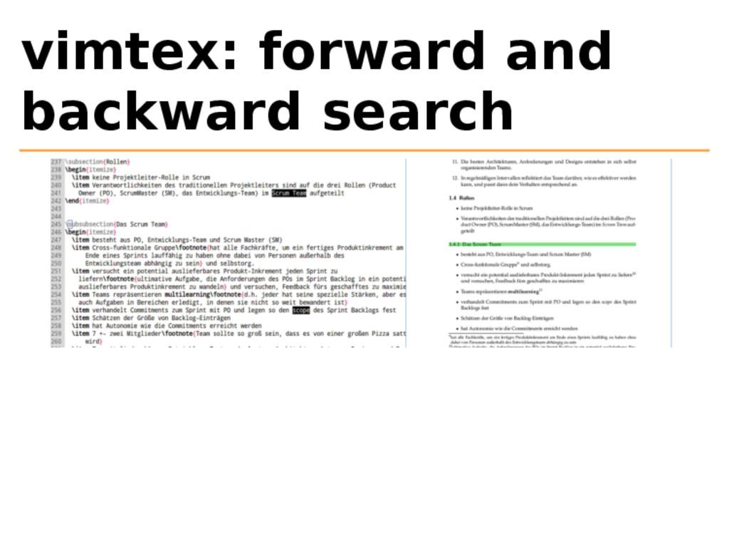 vimtex: forward and backward search