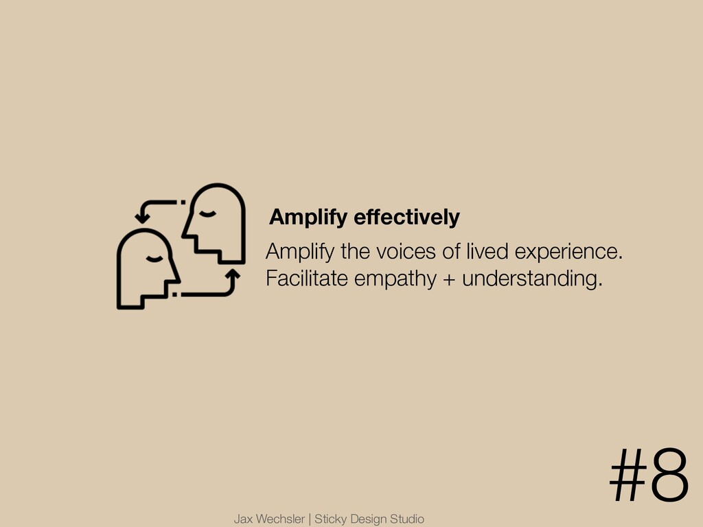 Jax Wechsler | Sticky Design Studio Amplify effe...