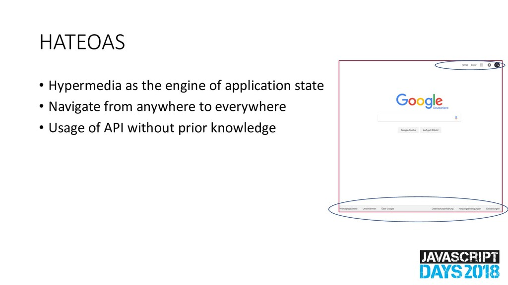 HATEOAS • Hypermedia as the engine of applicati...