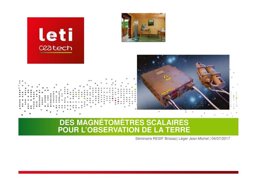 Séminaire RESIF Brissac  Léger Jean-Michel   04...