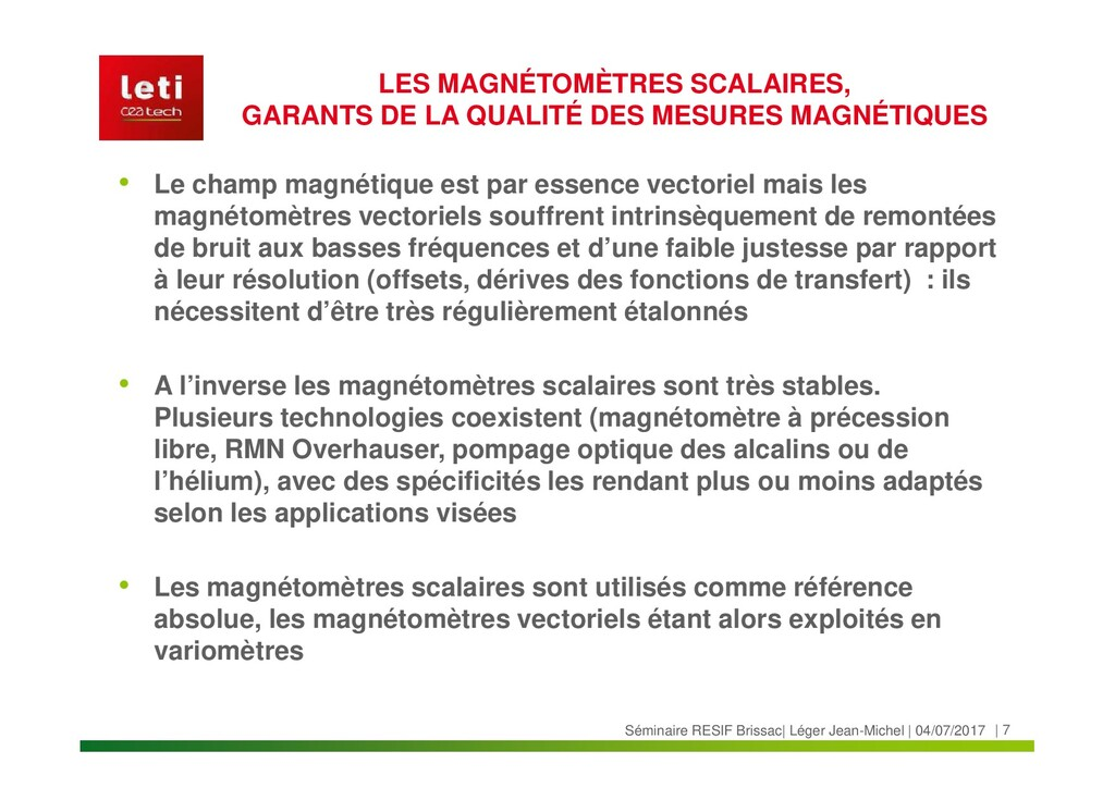   7 Séminaire RESIF Brissac  Léger Jean-Michel ...