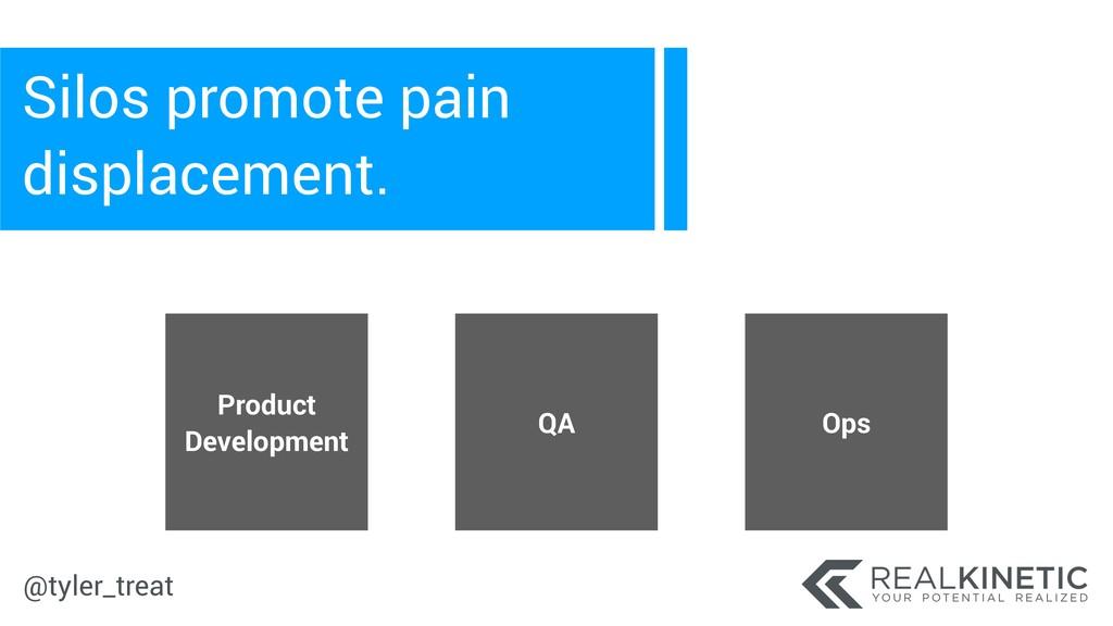 @tyler_treat Silos promote pain displacement. P...